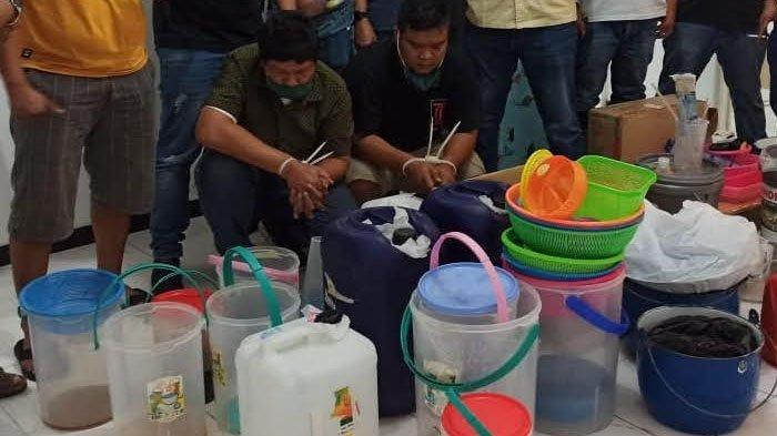 Home Industri Sabu asal Semarang Bisa Produksi 5 Kilogram Sabu Dalam 2 Hari