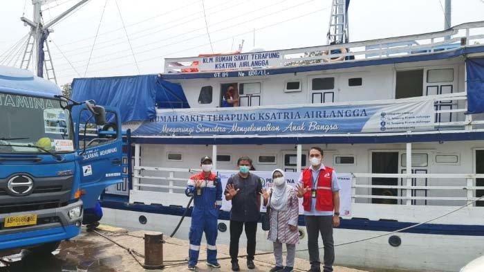Pertamina Dukung Misi Kemanusiaan RS Terapung Ksatria Airlangga untuk Korban Banjir Bandang di NTT