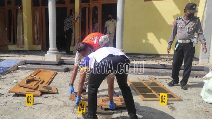 BREAKING NEWS Balon Udara Meledak Hancurkan Dua Rumah Warga Ponorogo