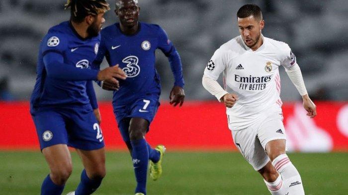 Link Live Streaming Chelsea vs Real Madrid di Semifinal Liga Champions: Kepulangan Eden Hazard