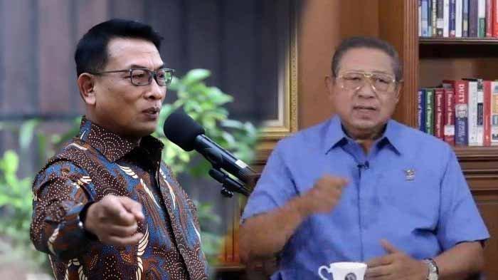 Kubu Moeldoko Sebut SBY Linglung Daftarkan Merek dan ...