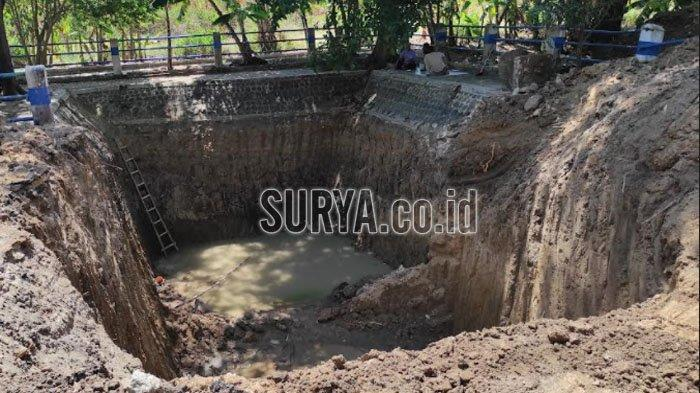 Ekskavasi Tiga Hari di Sendang Kuncen Kota Madiun, Sumber Air Pokok Belum Ditemukan
