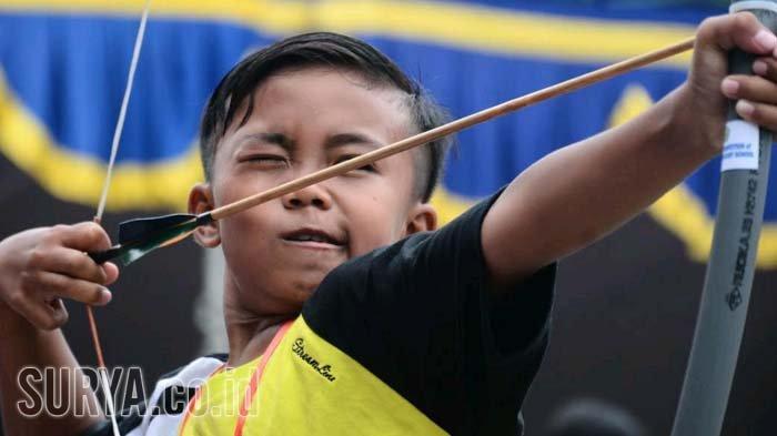 Olahraga Panahan Jadi Ekstrakurikuler Favorit di SD Muhammadiyah 4 Surabaya