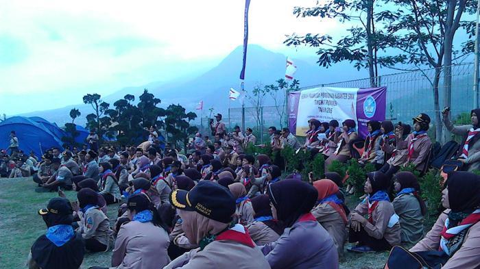 Ribuan Guru SMA di Jawa Timur Kembali menjadi Pandu