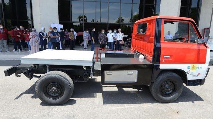 Tim Riset ITTS bersama PLN Berhasil Kembangkan Kendaraan Listrik Berjenis Truk