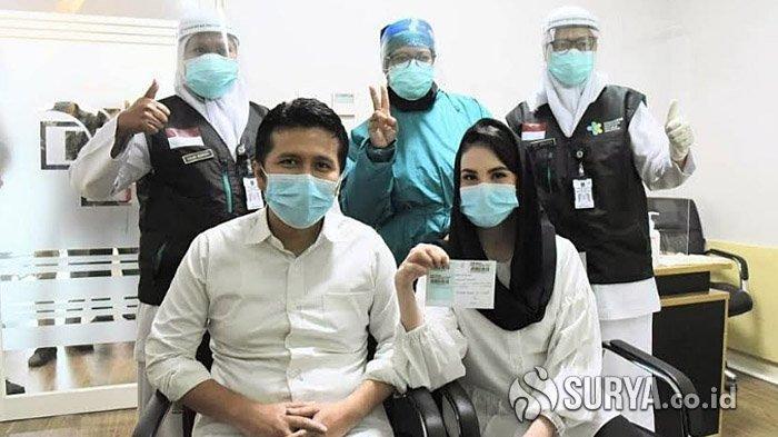 Setelah Sempat Ditunda, Arumi Bachsin Ungkapkan Kesannya Usai Disuntik Vaksin Covid-19 Hari Ini