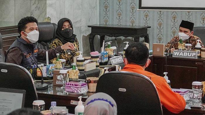Kasus Covid-19 Tinggi di Mojokerto, Wagub Emil Gelar Rakor dengan Jajaran Pemkab dan Forkopimda