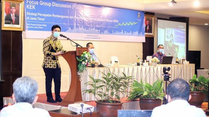 Wagub Emil Dardak Harap KEK Bisa Tumbuhkan Investasi di Jawa Timur