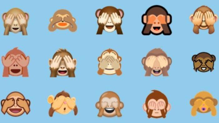 Bukan Menggambarkan Perasaan Malu, Ternyata Ini Makna Emoji Monyet Tutup Mata yang Sebenarnya