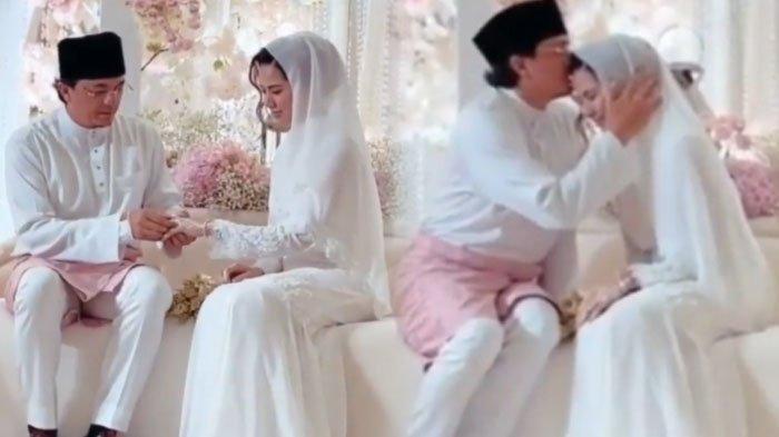 Momen pernikahan Engku Emran dan Noor Nabila