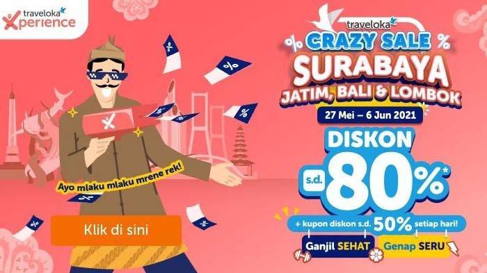 Respons Dinas Kebudayaan dan Pariwisata Kota Surabaya Selesainya Gelaran Crazy Sale di Surabaya