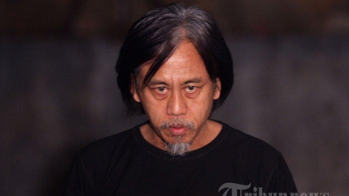 Pemain film Epy Kusnandar saat ditemui di lokasi Syuting untuk Film Mata Batin di Bandung, Jawa Barat, Jumat (13/10/2017).