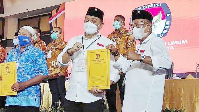 BREAKING NEWS Paslon Eri Cahyadi-Armuji Resmi Ditetapkan Jadi Pemenang Pilkada Surabaya 2020