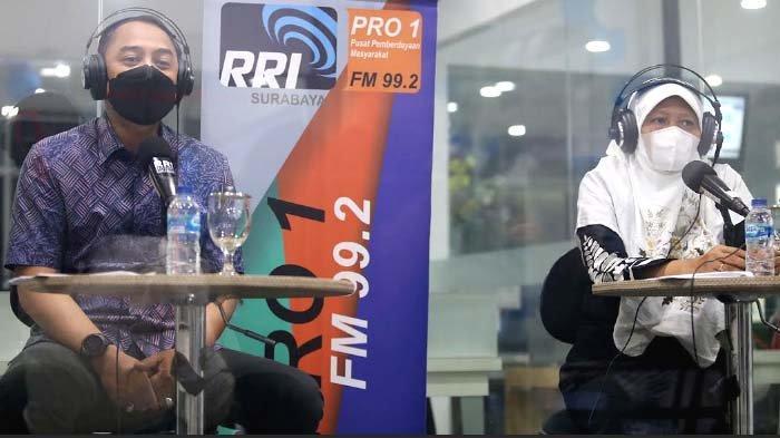 Jadi Penyiar Radio, Wali Kota Surabaya Eri Cahyadi Akui Peran Penting Media