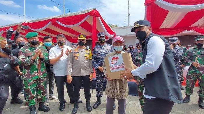 Akabri 96 Bantu Warga Terdampak Covid-19 di Surabaya, Berikan Bingkisan Hingga Pelatihan UMKM Gratis