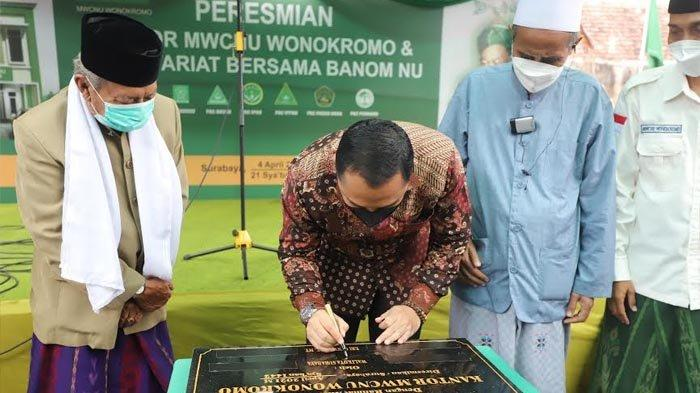 Gandeng NU, Eri Cahyadi Bicara Surabaya Jadi Kota Baldatun Thoyyibatun Wa Rabbhun Ghaffur
