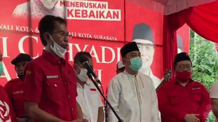 Ilustrasi - Hasil Quick Count Pilwali 2020 Surabaya Eri Cahyadi - Armuji Unggul, Pidato Kemenangan: Innalillahi