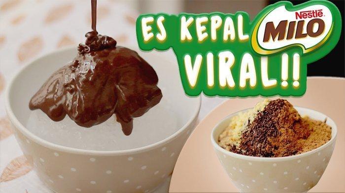 Viral di Media Sosial, Pedagang Es Milo Kepal ini Bahkan Harus Berdiri Selama 8 Jam. Antre Banget!