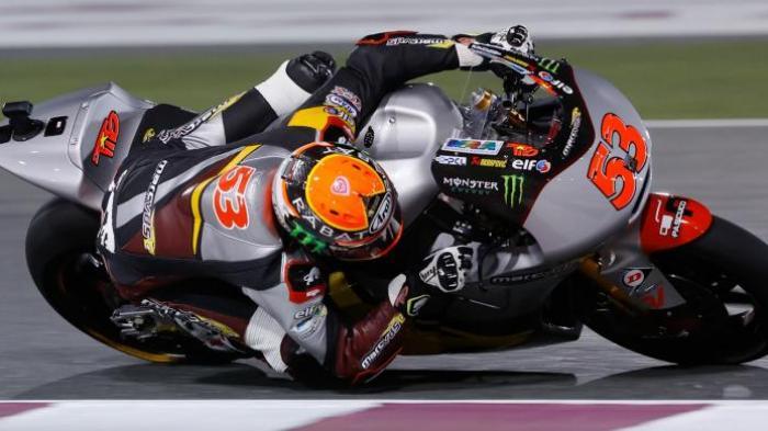 Tito  Juara Seri Perdana Moto2 2014