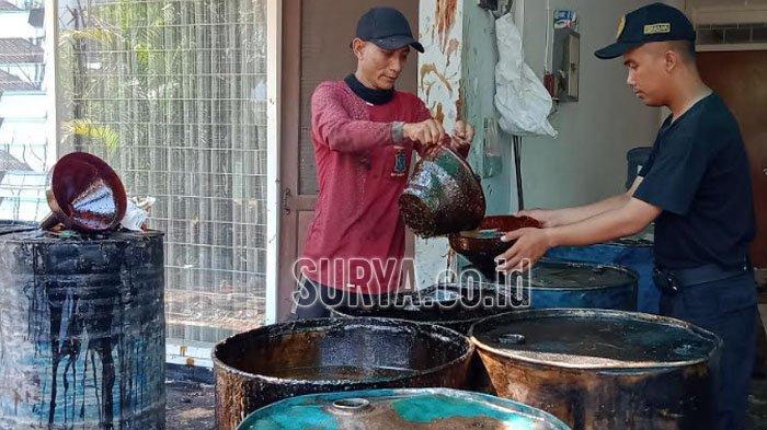 Kasus Semburan Minyak di Kutisari Surabaya, Badan Geologi Nasional Masih Lakukan Kajian