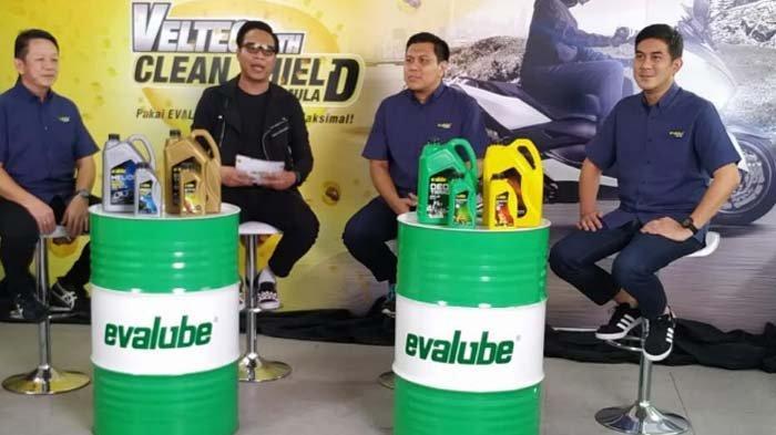 Evalube Klaim Formula Veltec with Clean Shield Kemasan Baru Mampu Bersihkan Mesin Lebih Maksimal