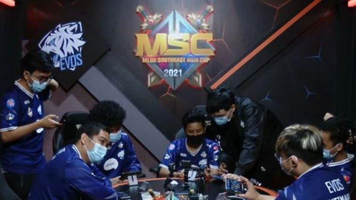 Jadwal Playoff MSC 2021 Hari Ke-3: EVOS Legends vs Execration, Blacklist Menunggu di Grand Final