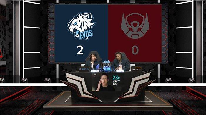 Hasil dan Klasemen MPL Season 6 Week 8 Day 2: Alter Ego Juara Regular Season, EVOS Legends Menang