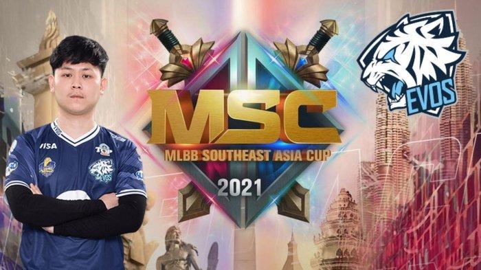 Update Jadwal MSC 2021: Hadapi Todak di Hari Pertama, EVOS Legends Tanpa REKT?
