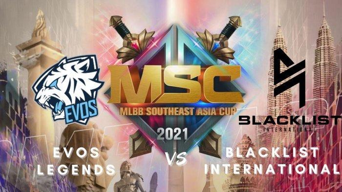 Jadwal Playoff MSC 2021 Hari Ke-2: EVOS Legends vs Blacklist International Berebut Tiket Grand Final
