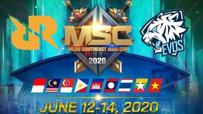Kompetisi MLBB Se-Asia Tenggara MSC 2020 Resmi Dibatalkan, Evos dan RRQ tak Jadi Wakili Indonesia