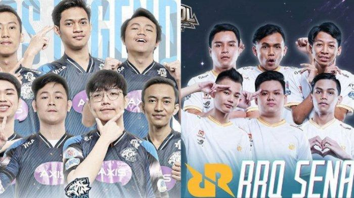 Jadwal Grandfinal MIC Hari Ini: Evos Legends vs RRQ Sena, Onic dan Geek Fam Lawan Musuh Berat