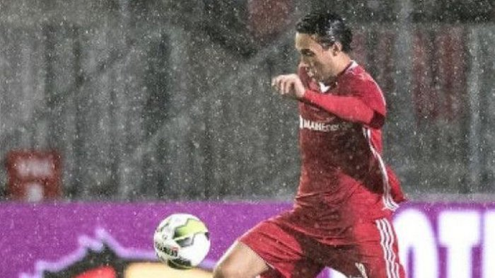 Striker Timnas Indonesia Ezra Walian Bantu Almere City Raih Satu Poin Lawan FC Dordrecht
