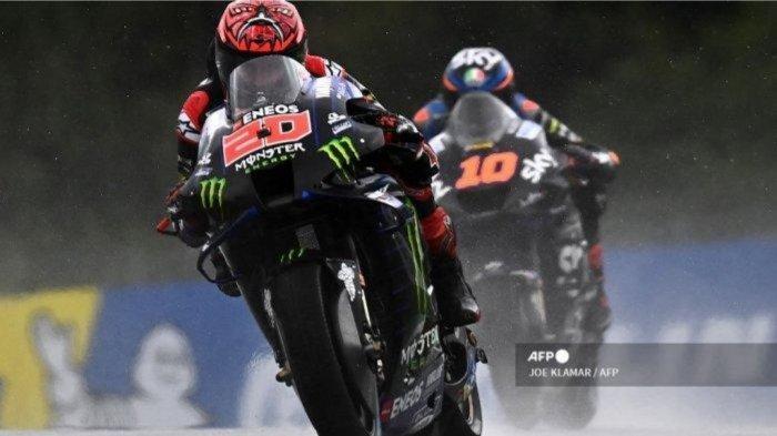 Pebalap Ducati, Francesco Bagnaia, Sebut Fabio Quartarato Layak Pimpin Klasemen MotoGP 2021