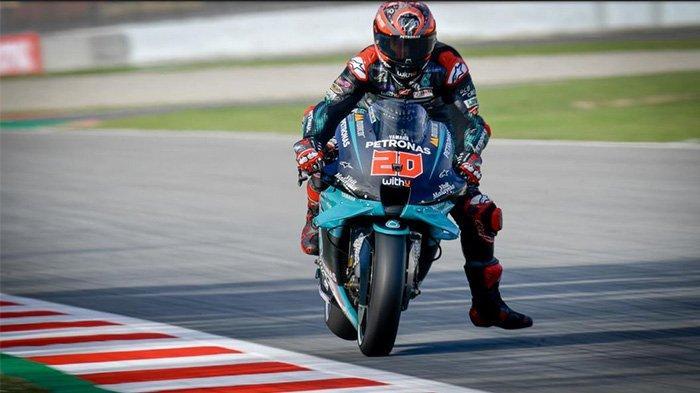 Hasil MotoGP Catalunya: Fabio Quartararo Raih Juara Seri Ketiganya Musim Ini, Rossi Gagal Finish