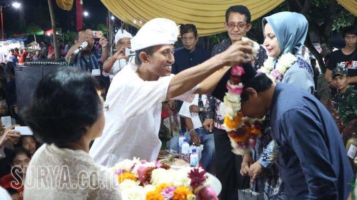 Hadiri Arak Ogoh-ogoh Perayaan Nyepi, Bupati Jember Kagumi Keberagaman Masyarakat Desa Sukoreno