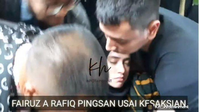 Fairuz A Rafiq Ambruk Seusai jadi Saksi Sidang Video Ikan Asin, Sempat Ditegur Hakim & Tak Kondusif