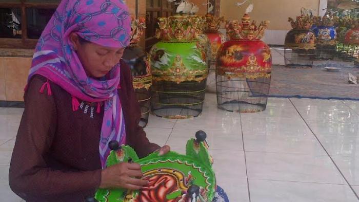 Sangkar Perkutut Ukiran Naga Paling Laris