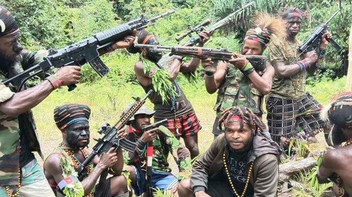Ilustrasi KKB Papua