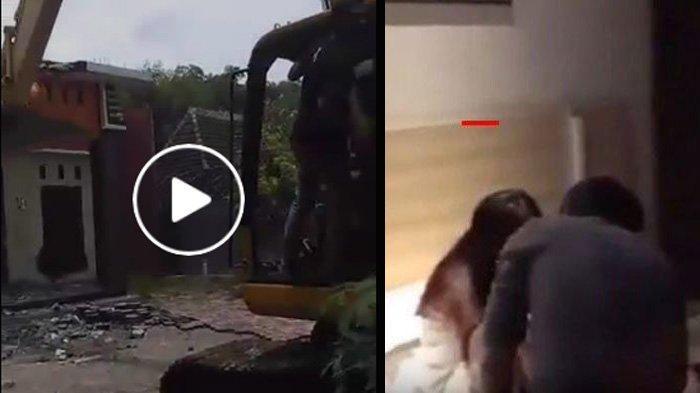 FAKTA BARU Suami Hancurkan Rumah karena Istri Selingkuh di Ponorogo, Sempat Dimediasi & Punya 2 Anak