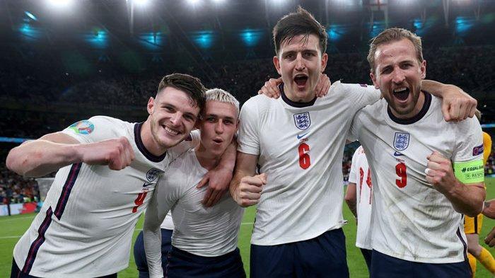 Fakta-fakta Inggris Lolos Final UERO 2020 untuk Lawan Italia, The Three Lions Catat Sejarah Dunia