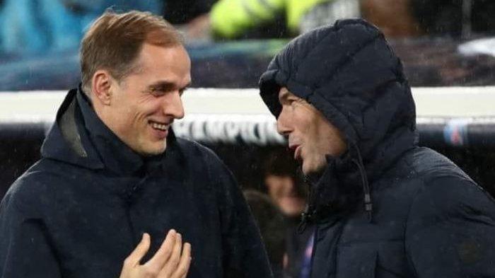 Real Madrid vs Chelsea - Fakta-fakta Menarik Pertemuan Zinedine Zidane dan Thomas Tuche