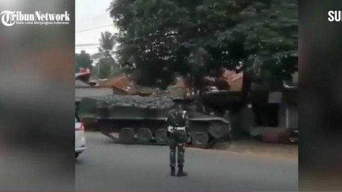 3 FAKTA Video Hoax TNI Pakai Tank untuk Penyekatan Selama Larangan Mudik, ini Pengakuan Pelakunya