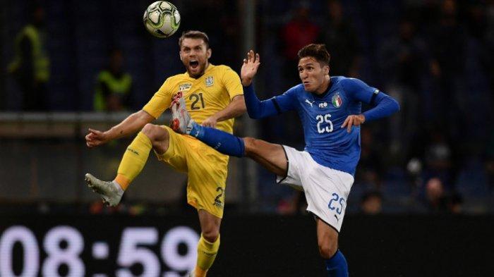 Timnas Italia vs Ukraina - Italia Gagal Raih Kemenangan Lima Kali Beruntun
