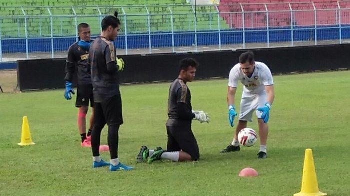 Gawang Arema FC Dibobol Striker Madura United, Felipe Americo : Itu Normal