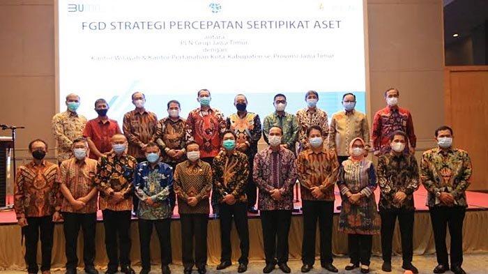 Terus Lakukan Koordinasi, PLN Grup Jawa Timur Kejar Penyelesaian Sertifikasi Aset