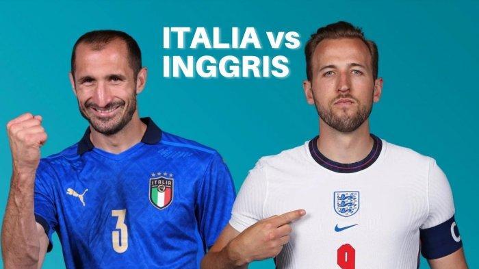 Susunan Pemain Inggris dan Italia, Inggris Perkuat Pertahanan, Pasang Tiga Bek