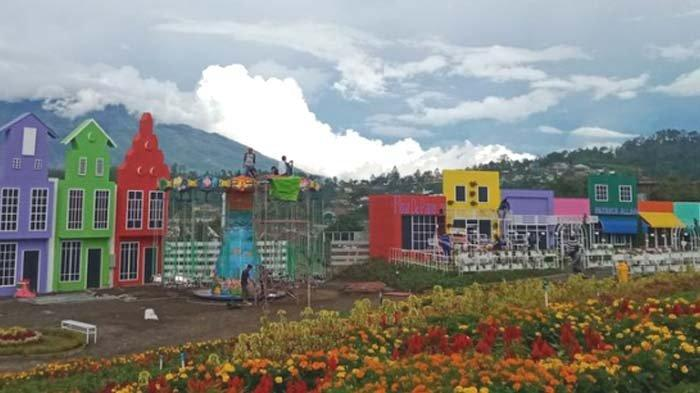 Wisata Lokal Rasa Luar Negeri, Flora Wisata San Terra De Lafonte bikin Traveler Betah Berlama-lama