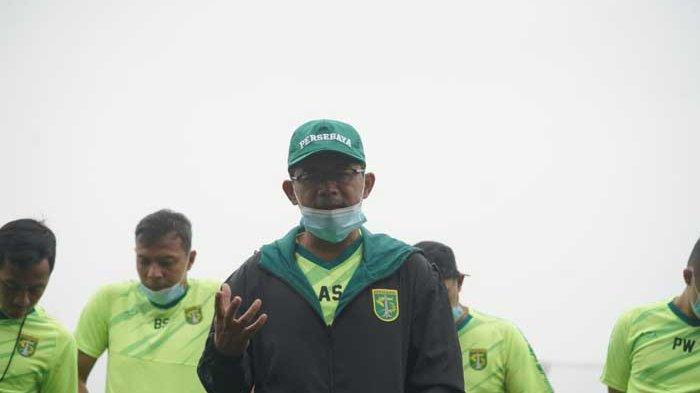 Fokus Aji Santoso saat Persebaya Surabaya Persiapan Menuju Liga 1 2021