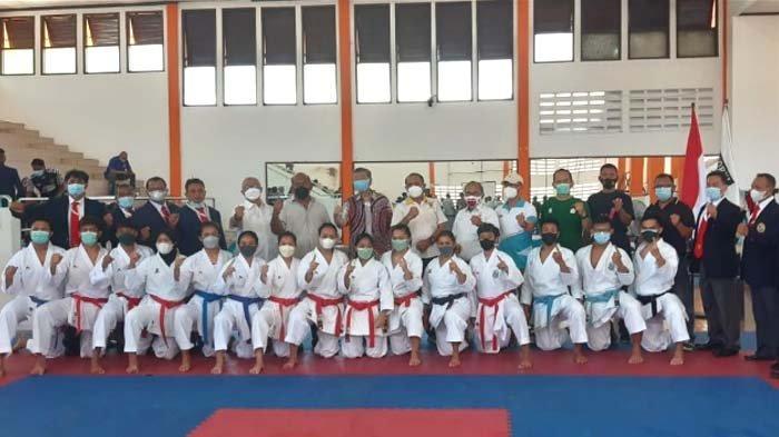 Tim Karate Jawa Timur Target Dua Emas di PON XX Papua 2021