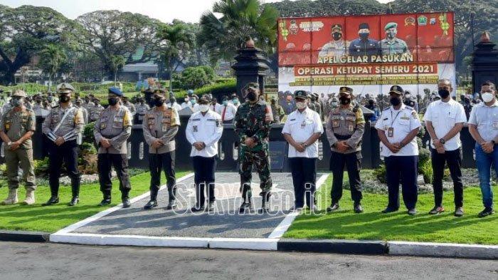 Pelanggaran Protokol Kesehatan Masuk Daftar Operasi Ketupat Semeru 2021 di Kota Malang